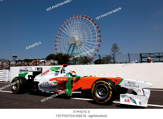 Saturday Practice, Adrian Sutil GER, Force India F1 Team, VJM04, F1, Japanese Grand Prix, Suzuka, Japan