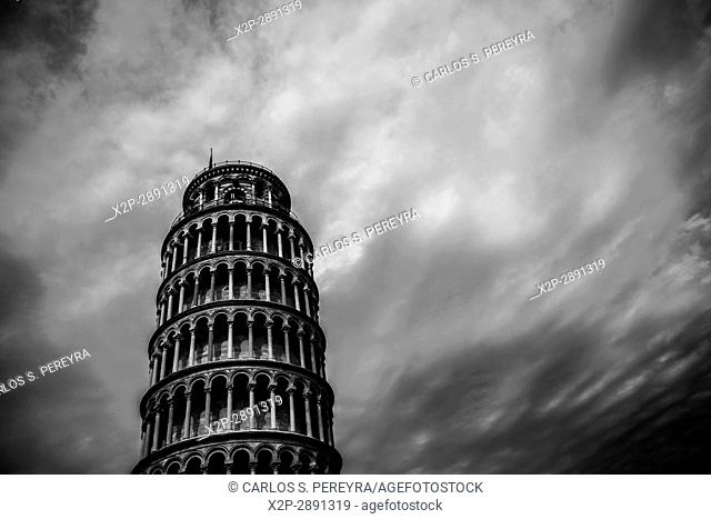 Leaning Tower of Pisa in Tuscany Italy Europe