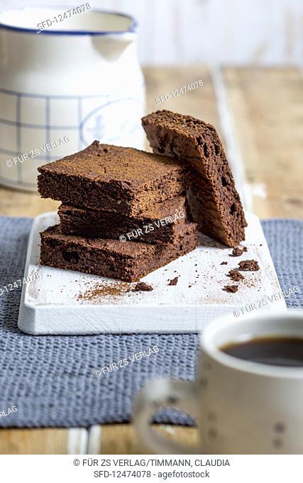 Bean brownies (low GL)