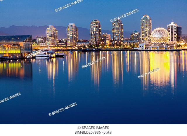 Downtown Vancouver Across the Water