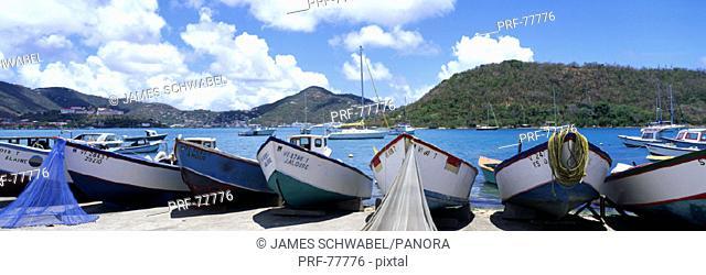 Fishing Boats St Thomas US Virgin Islands