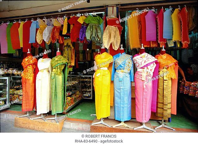 Clothing on sale, Bangkok, Thailand, Asia