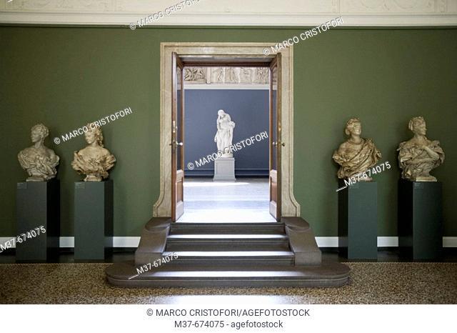 NY Carslberg Glypotek museum. Room 44. Copenhagen. Denmark