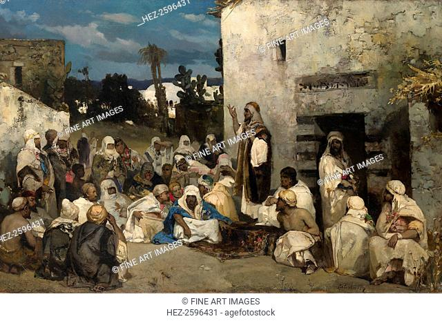 The Sermon at Capernaum. From a private collection