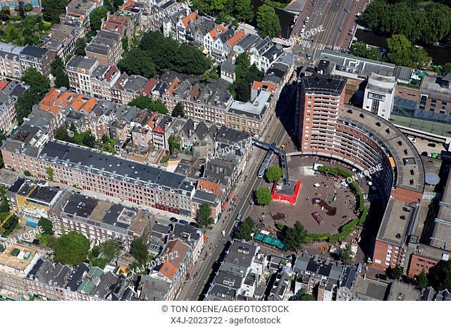 Heinken brewery in the centre of Amsterdam