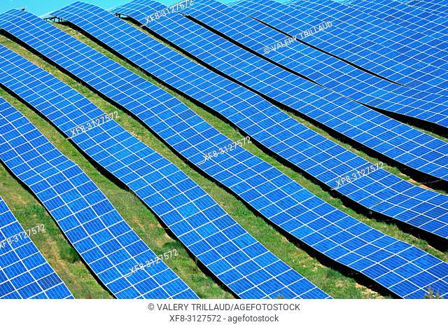 panneaux photovoltaiques, Alpes de Haute Provence, 04, PACA,