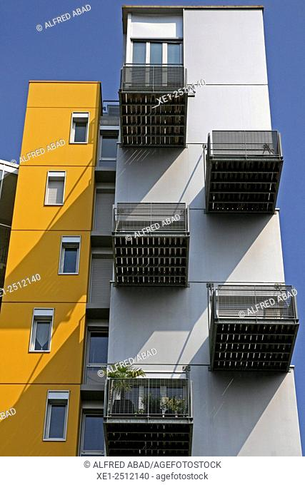 Residential building, Nantes, France