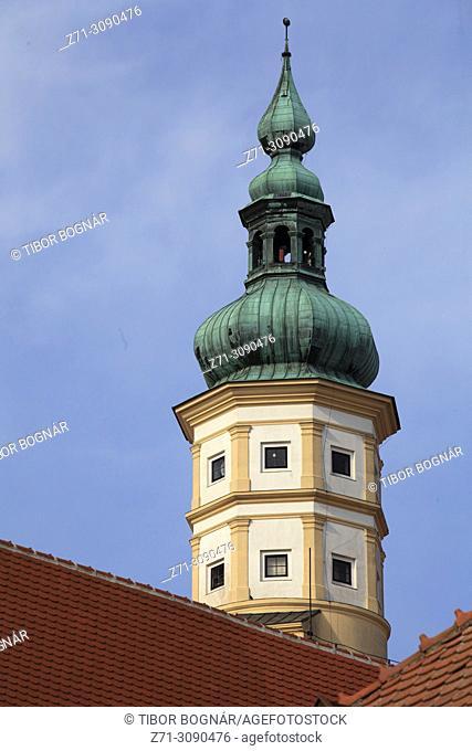 Czech Republic, Moravia, Mikulov, castle, chateau,