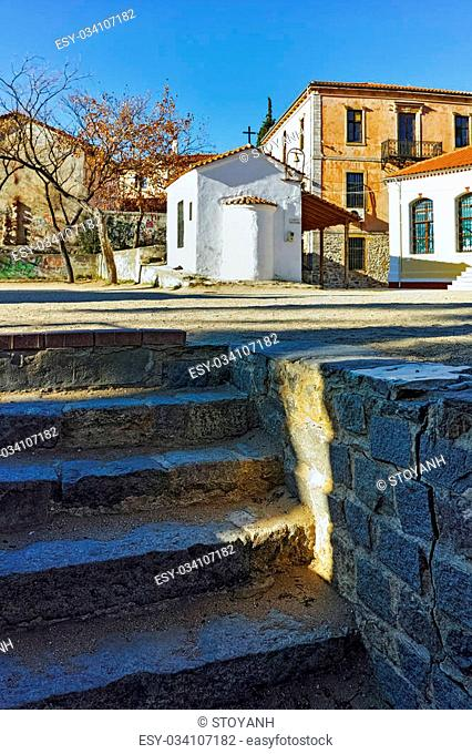 Small Church in old town of Xanthi, East Macedonia and Thrace, Greece