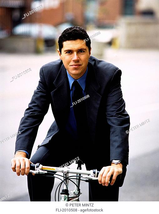 Fv4024, Peter Mintz; Businessman On Bike
