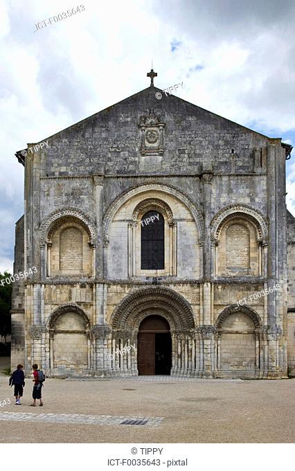 France, Poitou Charentes, Saintes, abbaye aux dames