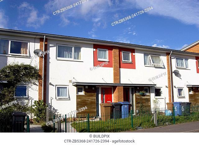 Terraced houses, London, UK