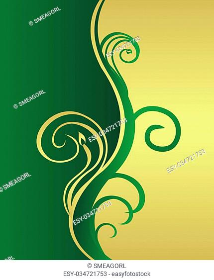 Beautiful background for design of cards and invitation. Vector
