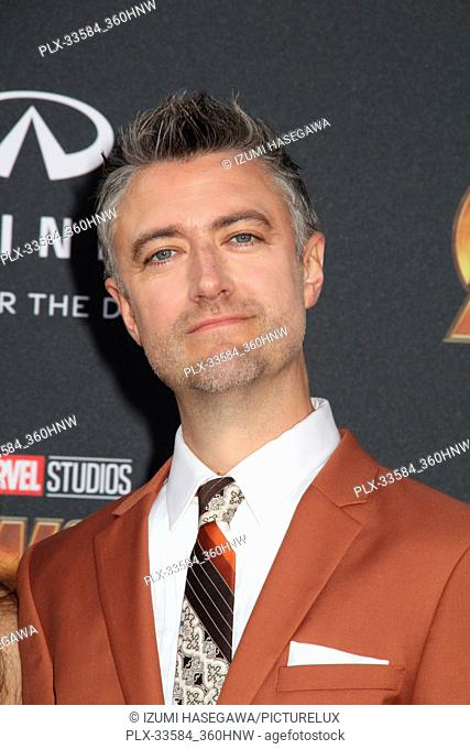 """Sean Gunn 04/23/2018 The World Premiere of """"""""Avengers: Infinity War"""""""" held at Hollywood, CA Photo by Izumi Hasegawa / HNW / PictureLux"""