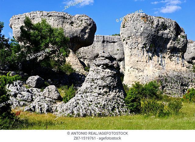 Callejones de las Majadas, Serrania de Cuenca Natural Park, Cuenca province, Castilla-La Mancha, Spain