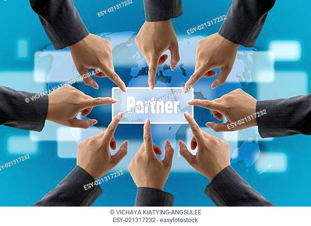 business partner Concept