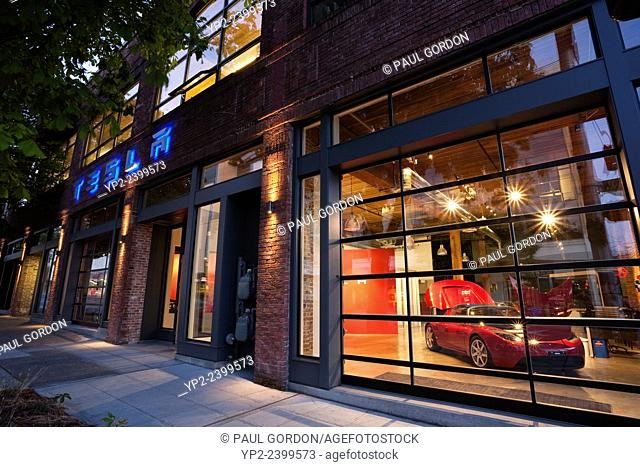 Tesla Store Seattle - South Lake Union Neighborhood. Tesla Motors Inc. is a Silicon Valley-based company that engages in the design, manufacture