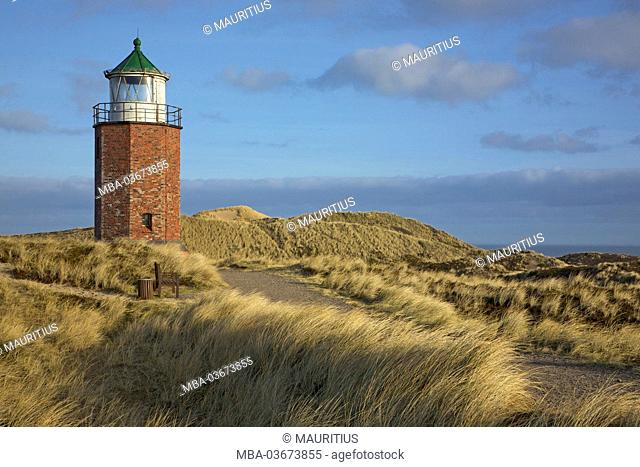 Former 'Quermarkenfeuer' (lighthouse) next to Kampen (municipality) on the island of Sylt