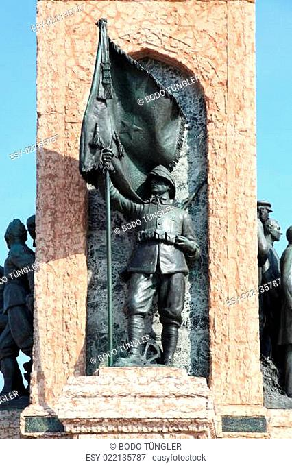 Denkmal der Republik Taksim Platz Istanbul