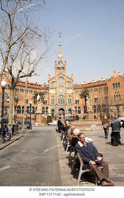 Hospital de la Santa Creu i Sant Pau, Barcelona, Spain
