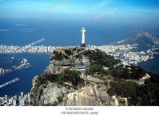 Morro Dois Irmãos, Cristo Redentor, Rio de Janeiro, Brazil