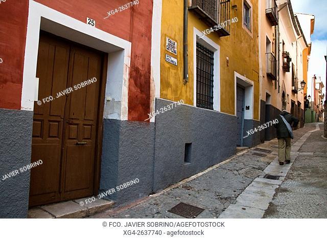 """Calle Severo Catalina - Cuenca â. """" Castilla La Mancha â. """" España - Europa"""