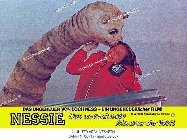 Nessie, das verrückteste Monster der Welt, aka: Der lustigste Dino der Welt, Deutschland 1985, Regie: Rudolf Zehetgruber, Darsteller: Delia / Miriam Behpour