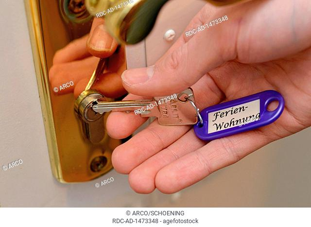 keys for holiday apartment