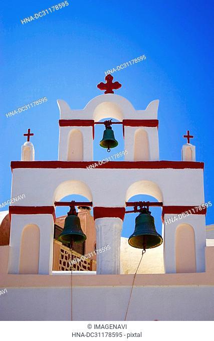 Church in Oia, Santorini Island