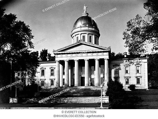 Vermont State House, Montpelier, Vermont. 1940 photo