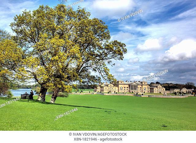 Holkham Hall, Norfolk, England, UK