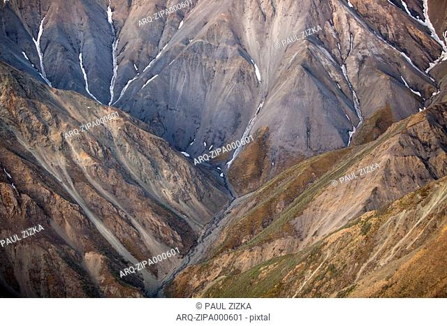 Scenic View Of Snowcapped Mountain In Kluane National Park