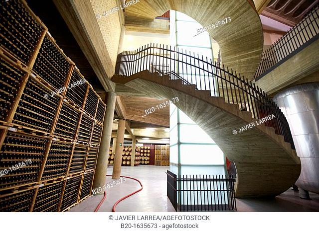 Bodegas Olarra, Logroño, La Rioja, Spain