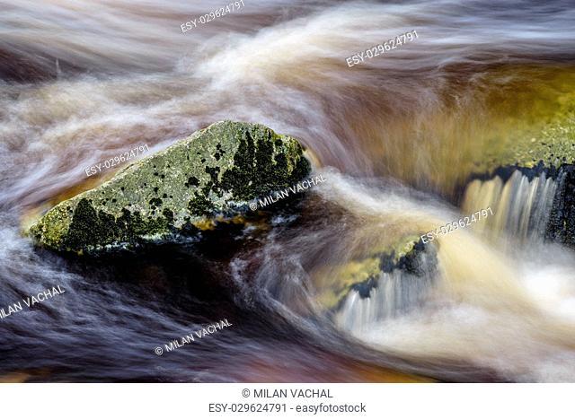 Czech Republic, river Vydra