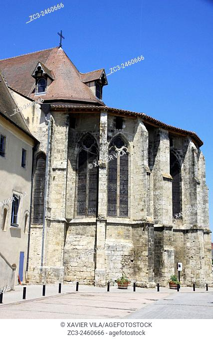 Church of Saint Pourcain sur Sioule, Allier, Auvergne, France
