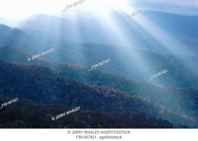 Cherohala Skyway. North Carolina-Tennessee, USA