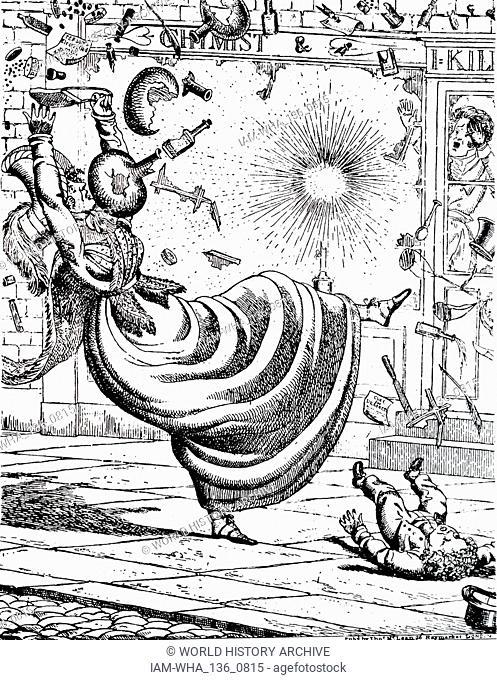 Cartoon Victorian Era Stock Photos And Images
