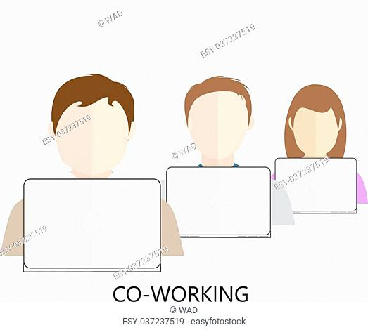 Co-working Icon