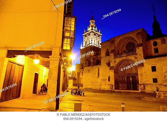 Cathedral of Asuncion in El Burgo de Osma, Soria, Spain