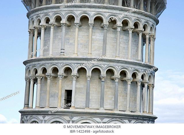 Campanile, Leaning Tower, UNESCO World Heritage, Pisa, Tuscany, Italy, Europe