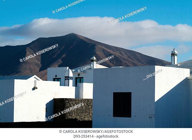 Apartments at Playa Blanca, Lanzarote. Canary Islands. Spain