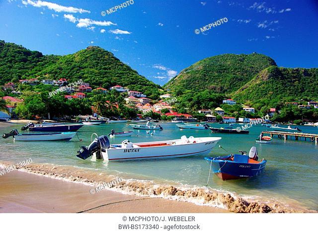 Les Saintes, Terre de Haut, Guadeloupe, Caribbean Sea