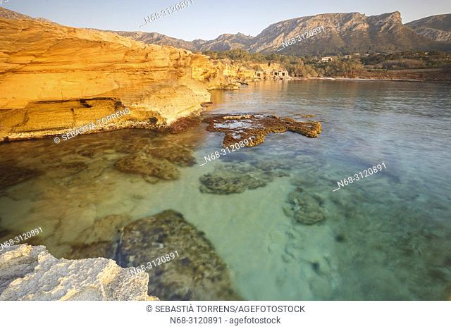 Ca los camps, coast of Arta, Majorca, Balearic Islands, Spain