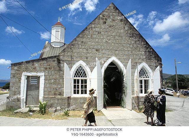 St Thomas Church in Nevis
