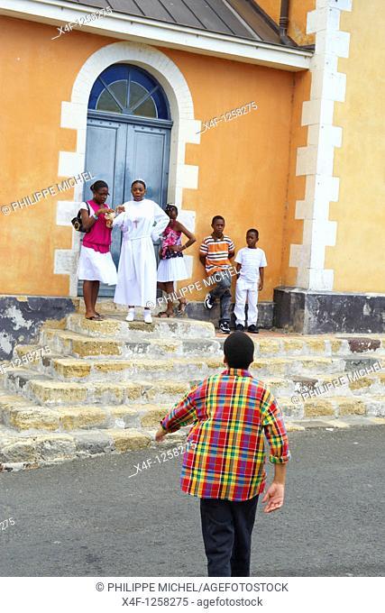 France, Martinique, Les Trois-Ilets, Notre-Dame-de-la-Délivrance church