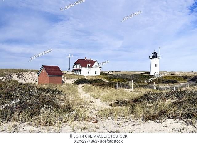 Race Point Lighthouse, Cape Cod, Massachusetts, USA