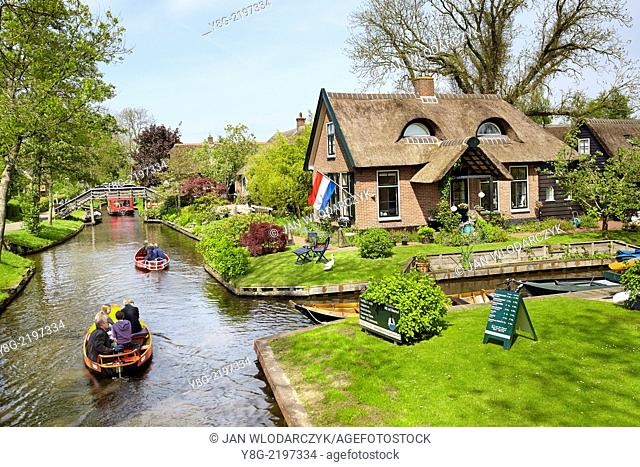 Giethoorn village - Holland Netherlands