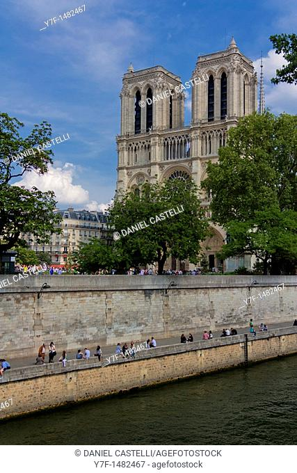 Notre Dame cathedral,Paris,France