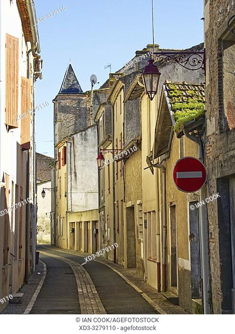 Rue du Temple, Castelmoron-sur-Lot, Lot-et-Garonne Department, Nouvelle Aquitaine, France