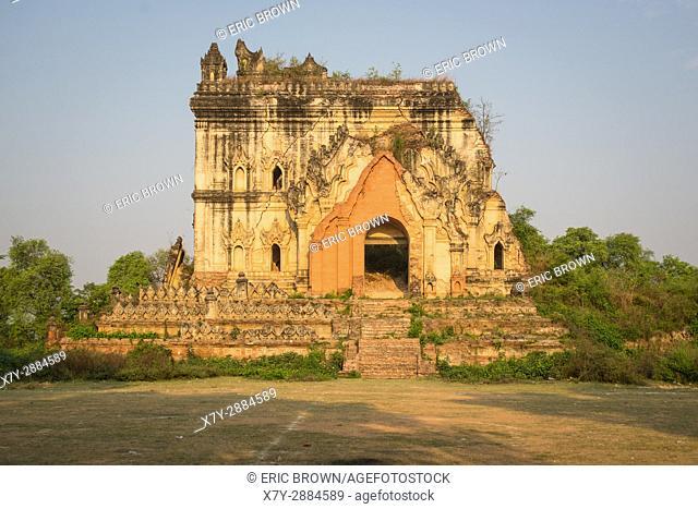 At a pagoda complex near Mandalay, Myanmar
